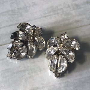 Retro Sparkle and Shine Clip On earrings
